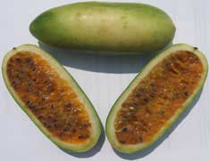 Banana-passionfruit