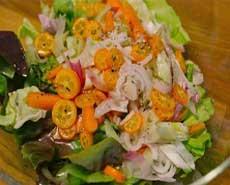 Kumquat-salad