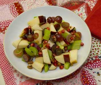 Waldorf-Pomegrante-Salad