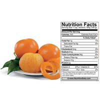 tangelo nutritional facts