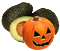 Pumpkins and avocados are fruits