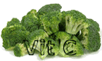 Dark green vegetables are more Vitamin C rich